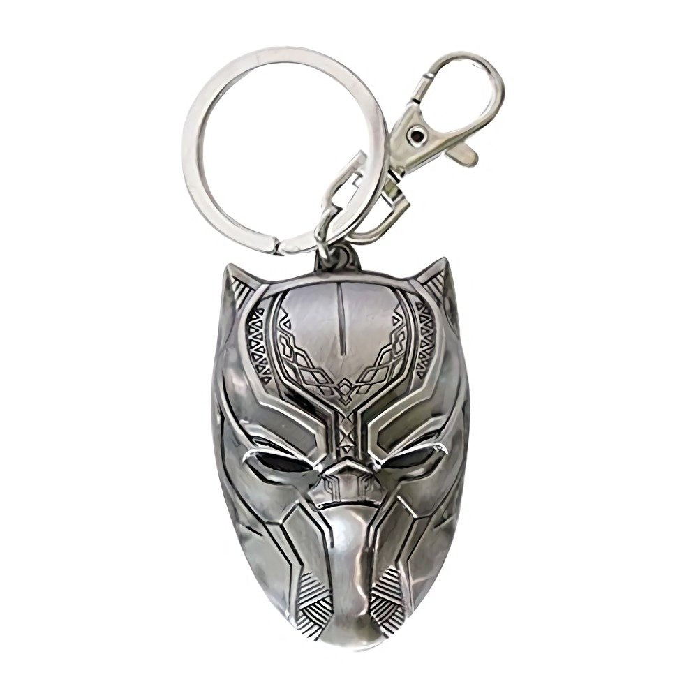 Marvel Pewter Keyring Black Panther