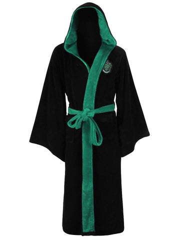 Slytherin Harry Potter Fleece Ladies Bathrobe