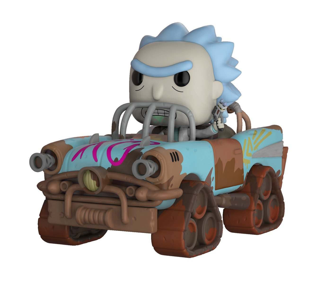 Pop! Funko Rick And Morty Ride Vinyl Figure Mad Max