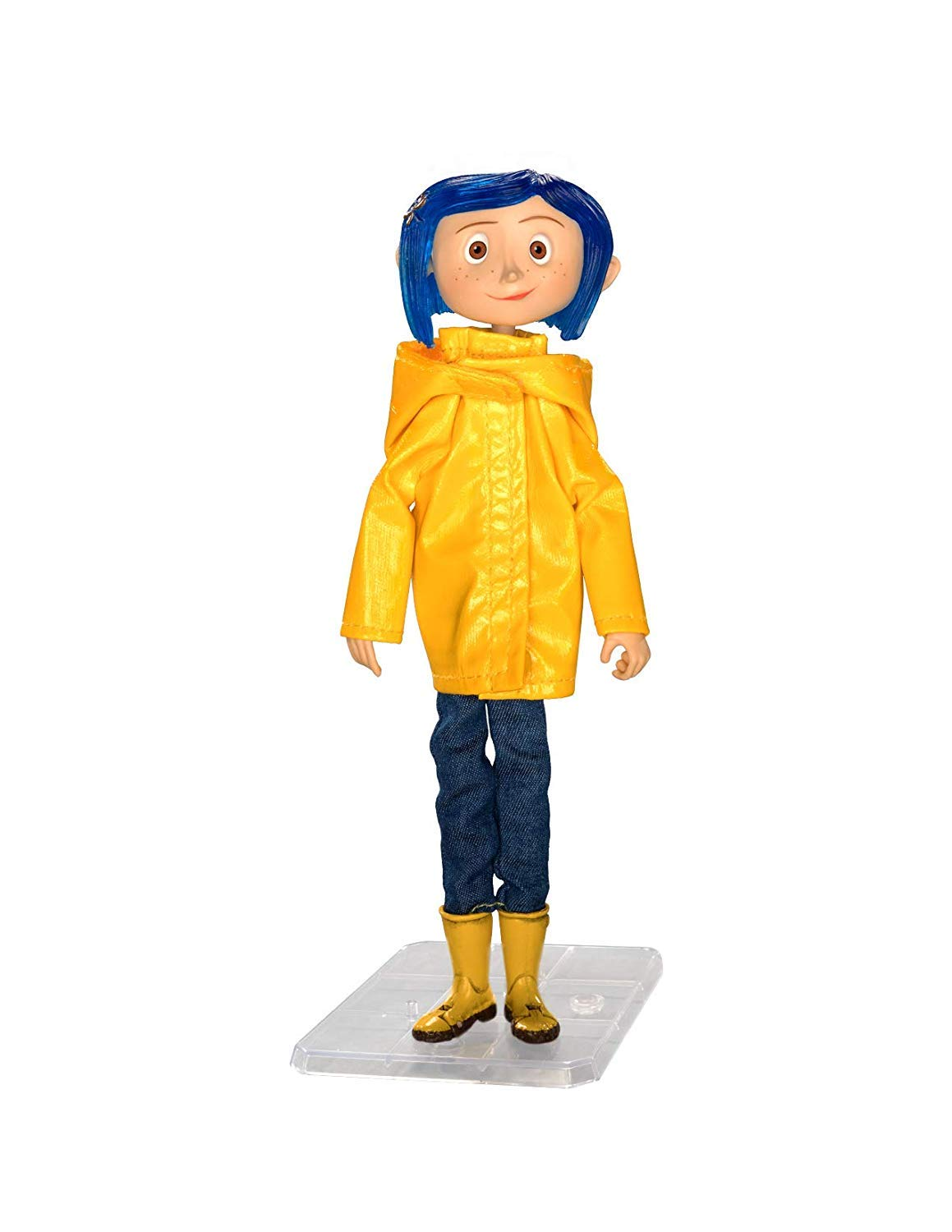 Coraline Articulated Figure Coraline In Raincoat