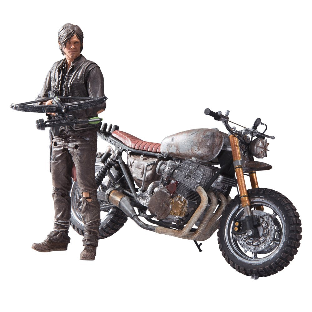"Walking Dead TV 5"" Daryl Dixon With New Bike Deluxe Box Set"