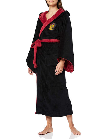 Gryffindor Harry Potter Fleece Ladies Bathrobe