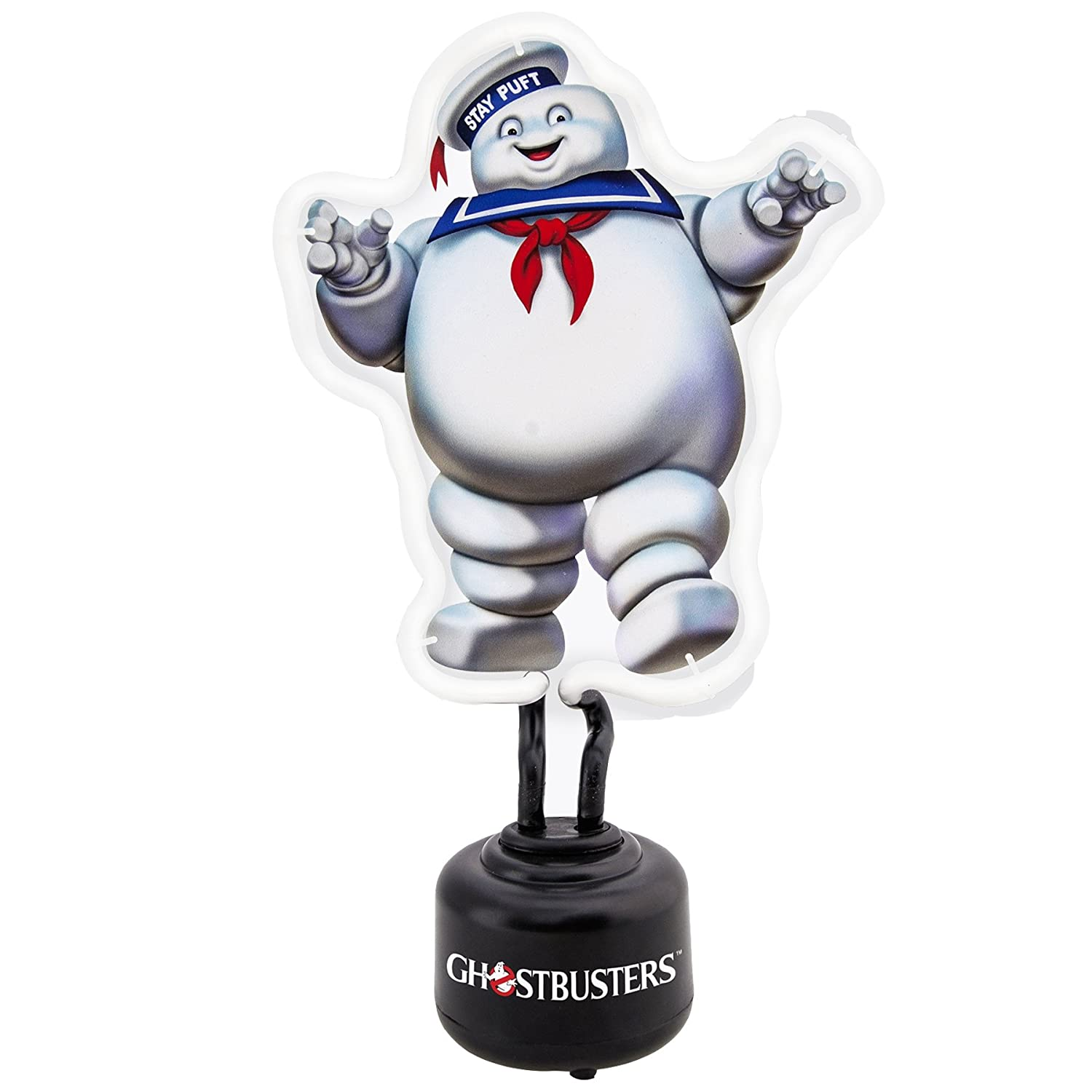 Ghostbusters Stay Puft Marshmallow Man  Small Neon