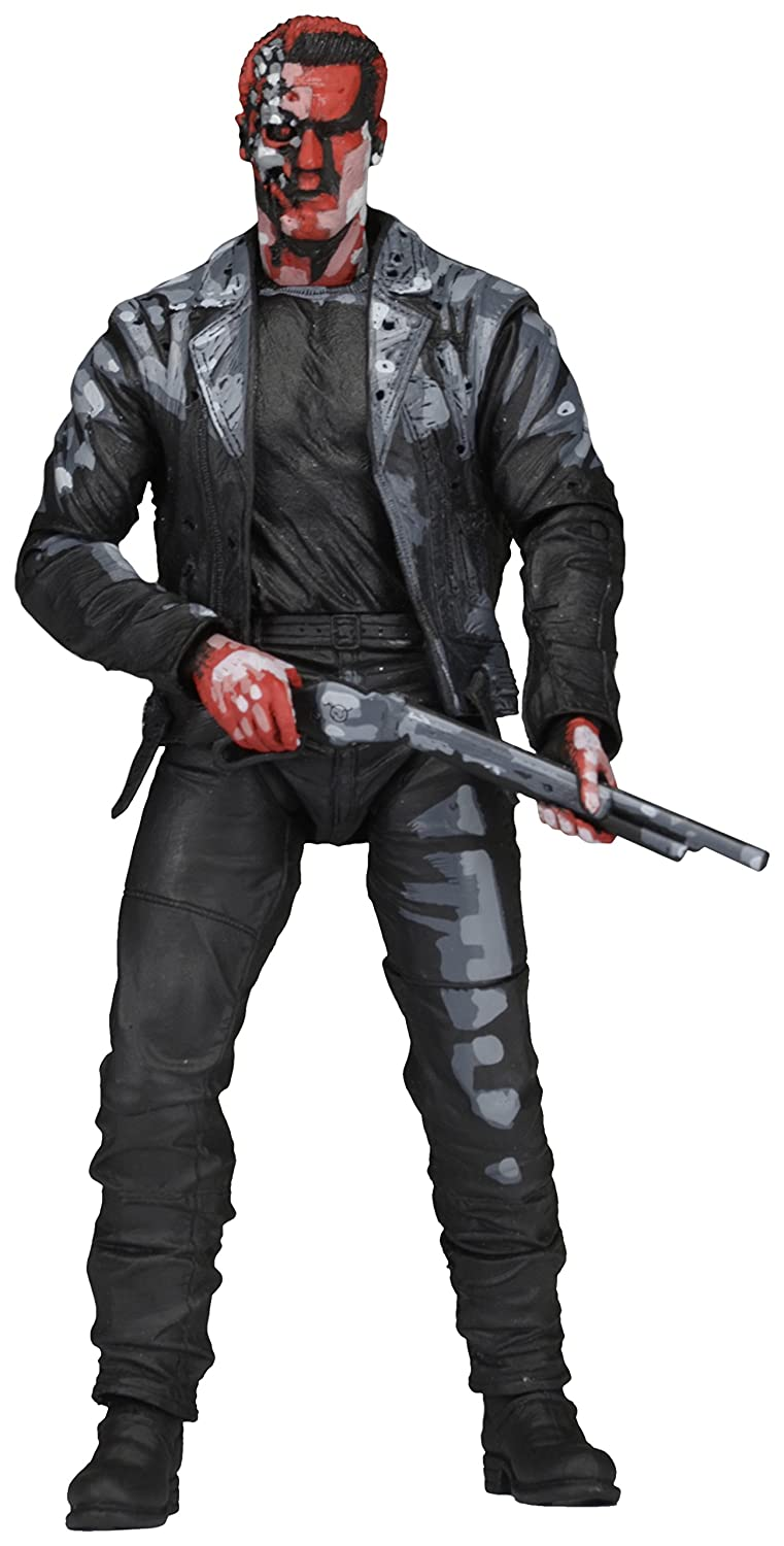 "Terminator 2 7"" Action Figure T800 Video Game Appearance"