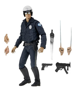 "Terminator 2 7"" Scale Action Figure Ultimate T1000 (Motorcycle Cop)"