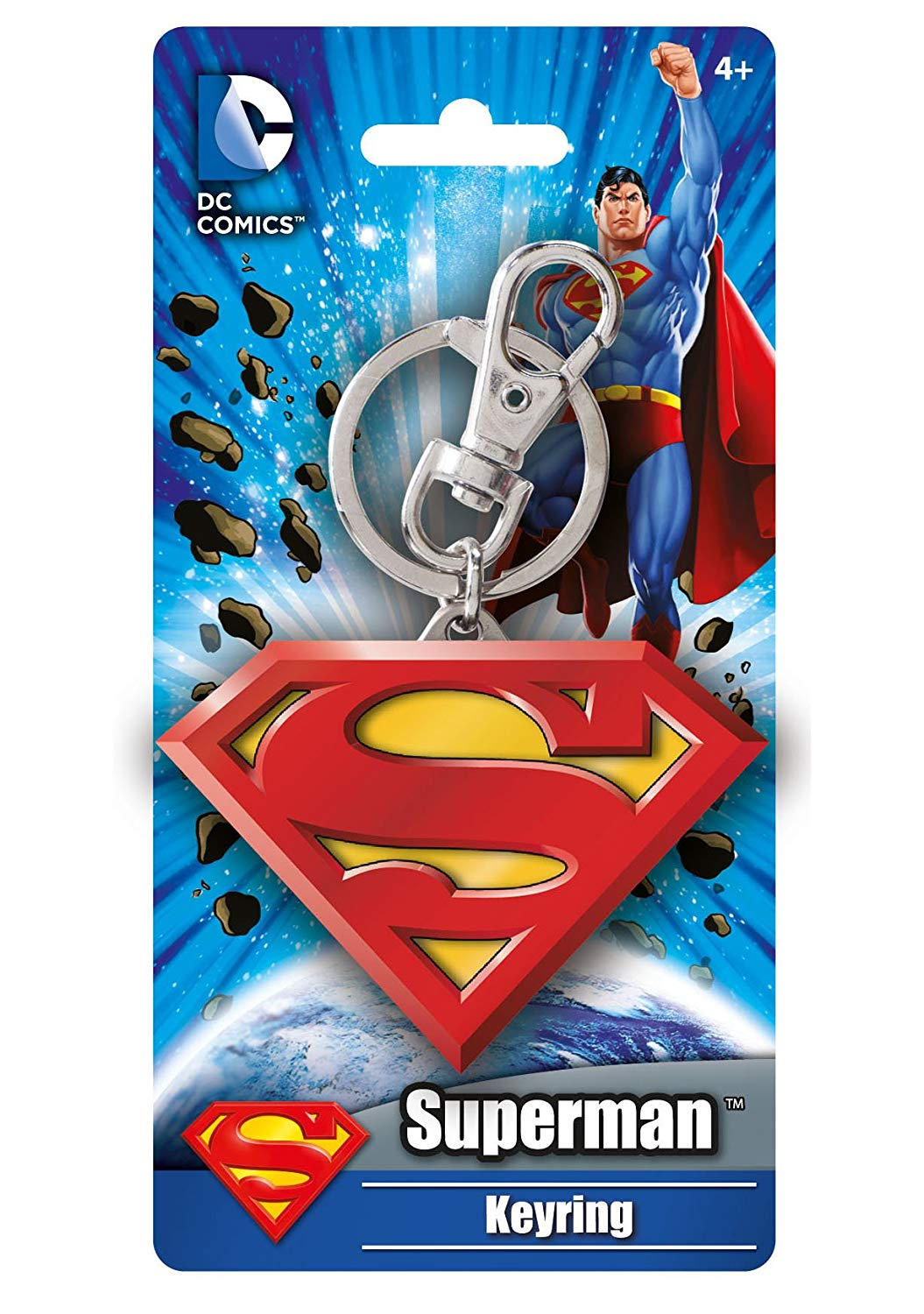DC Comics (Pewter Keyring) Superman Logo