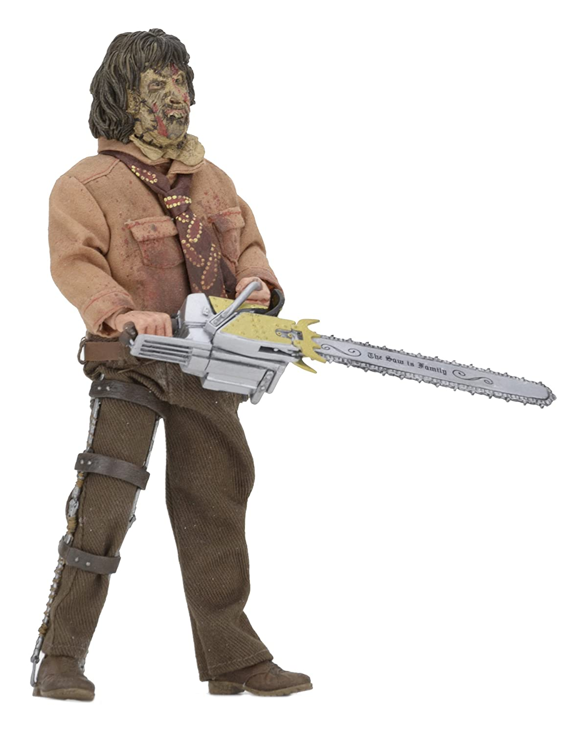 "Texas Chainsaw Massacre 3 8"" Clothed Figure Leatherface"