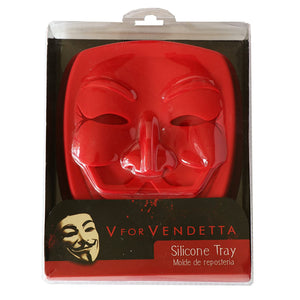 V For Vendetta Silicone Cake Pan Mask