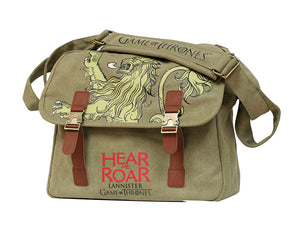Game Of Thrones Canvas Messenger Bag Lannister