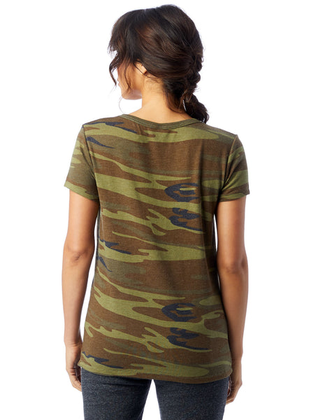 Ideal Printed Eco-Jersey T-shirt in Camo