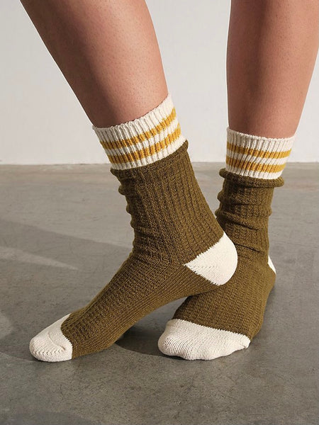 Jackson Cozy Stripe Socks
