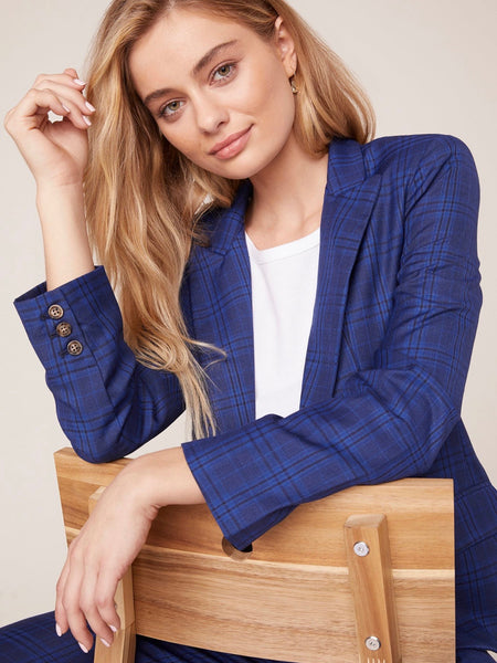 Trail Blazer Plaid Blazer
