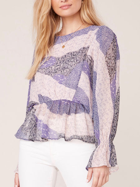 Surprise Party Flutter Sleeve Blouse