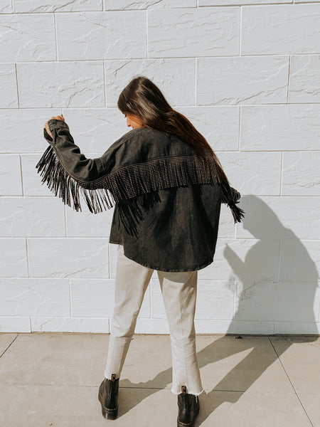 Fringe To The Max Jacket