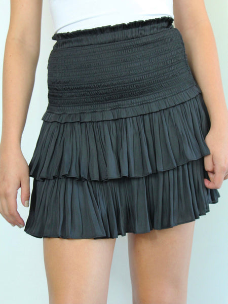 Ruched Out Skirt