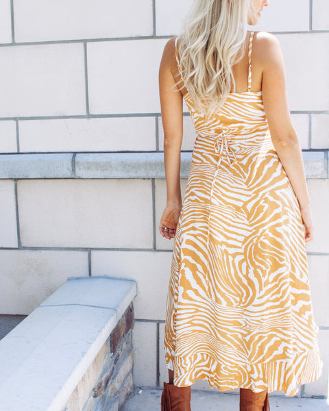 Pretty Wild Maxi Wrap Dress