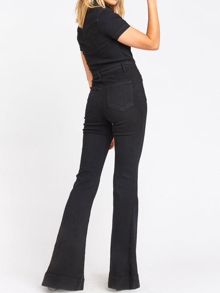 Everheart Jumpsuit in Pitch Black