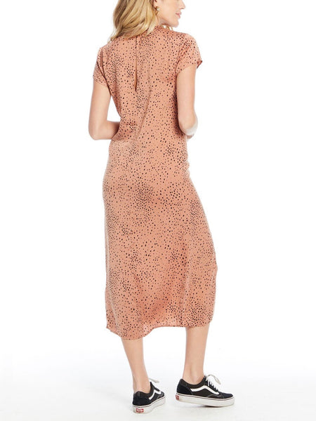 Skye Midi Dress in Sienna Spot