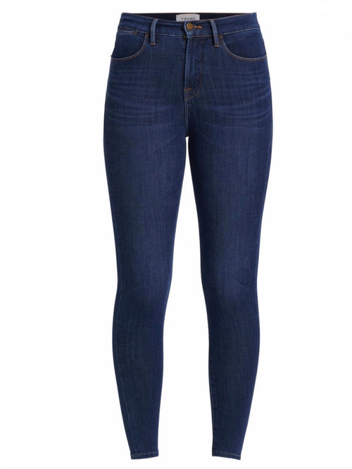 Frame Denim 24 Hr Le High Skinny in Henning