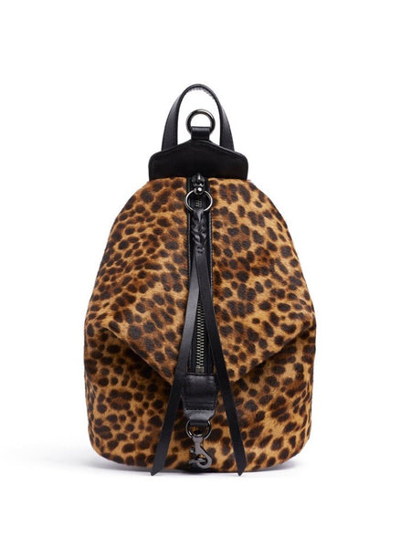 Mini Julian Backpack in Leopard