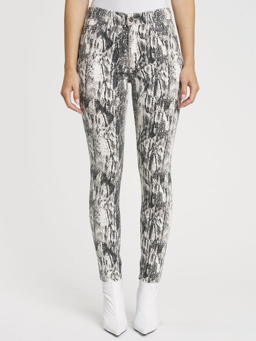 Aline High Rise Skinny in Winter Snake
