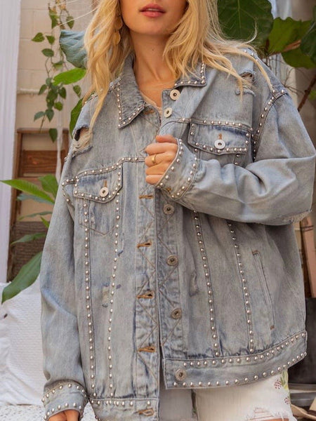 Falling For Denim Jacket