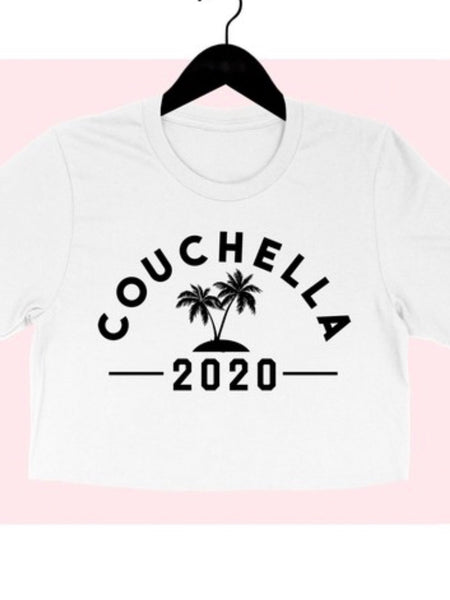 Couchella Crop Tee