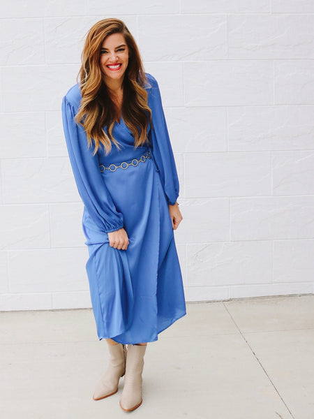 The Best Kind of Blue Dress