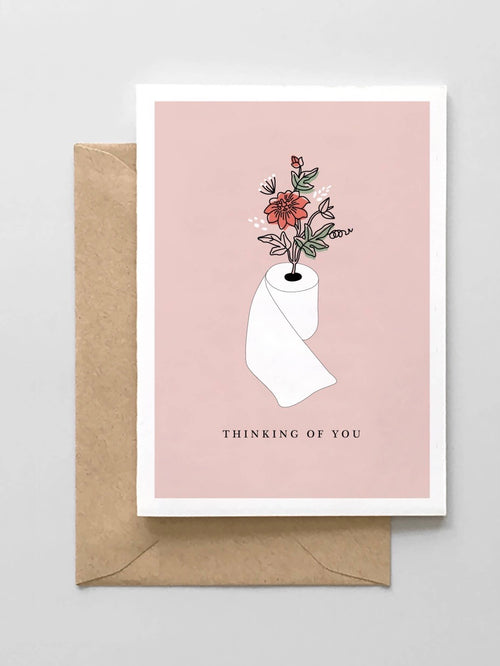 Greeting Card - Thinking of You Toilet Paper