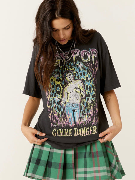 Iggy Pop Gimme Danger Weekend Tee