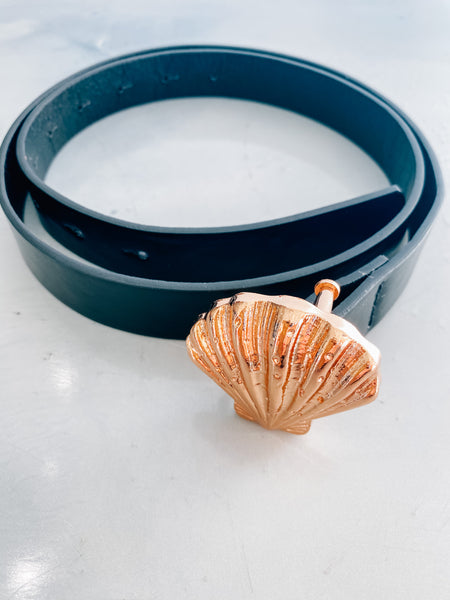 Seashell Buckled Belt