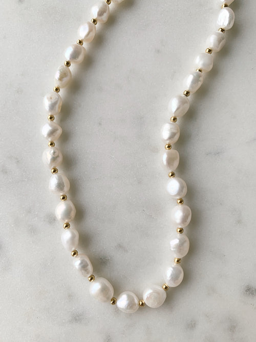 Hailey Pearl Necklace