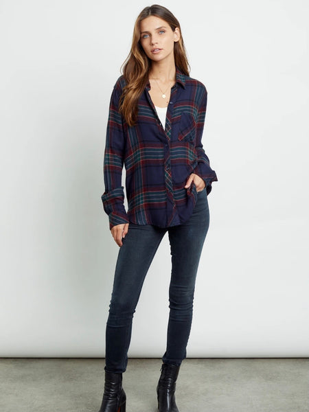 Hunter Plaid Top