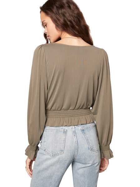 Sleeve To Believe Top