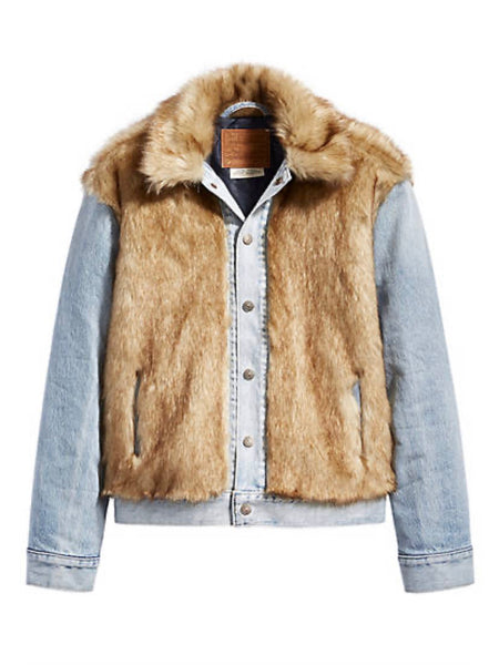 Furry Fury Trucker Jacket