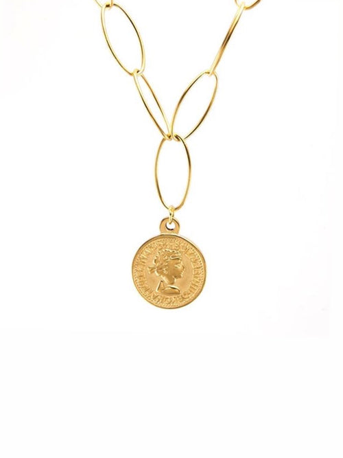 Elsie Coin Necklace