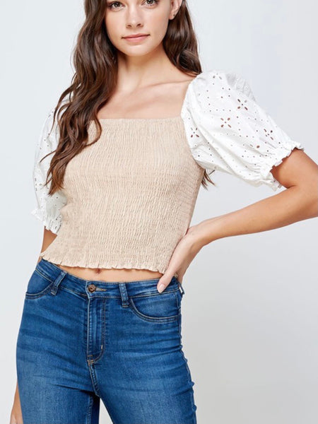 Too Sweet Two Tone Top