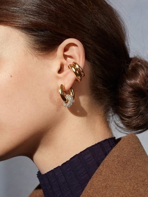 Gaia Two-in-One Earrings