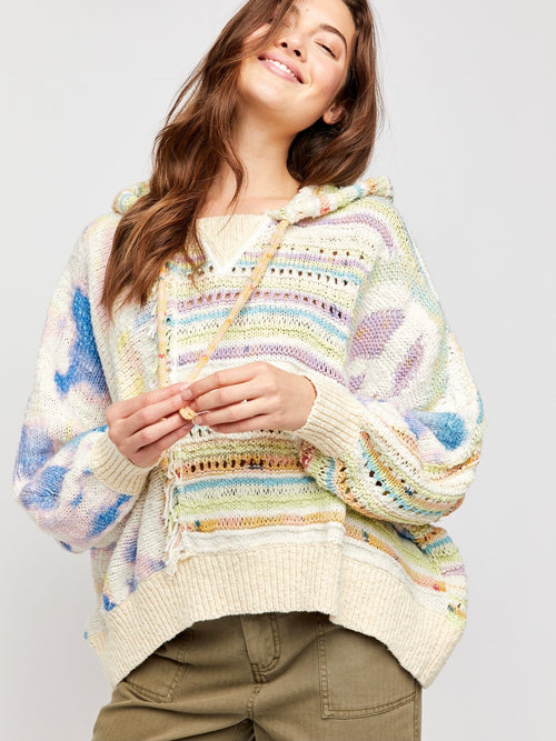 Flower Child Poncho