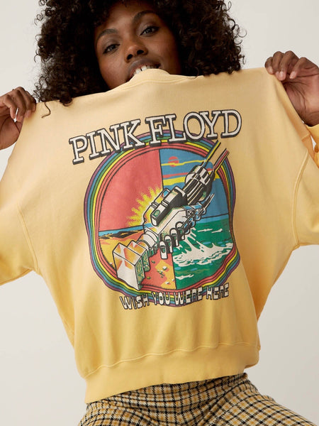 Pink Floyd Wish You Were Here Oversized Sweatshirt
