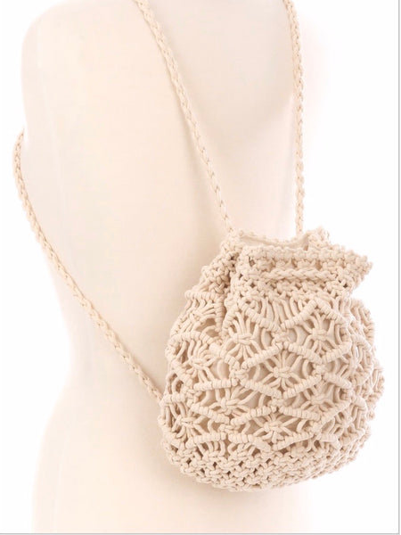 Macrame Mood Backpack
