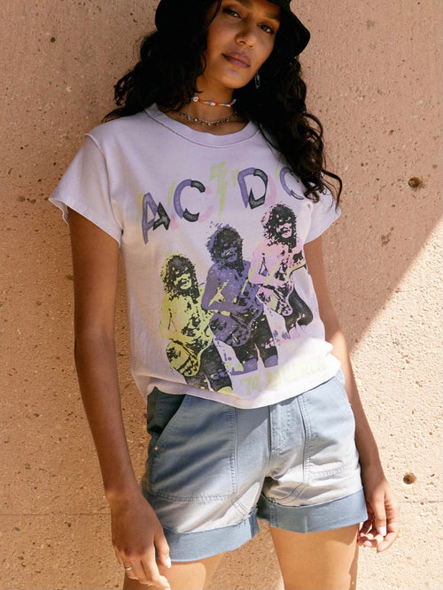 AC/DC Jailbreak Reverse Girlfriend Tee