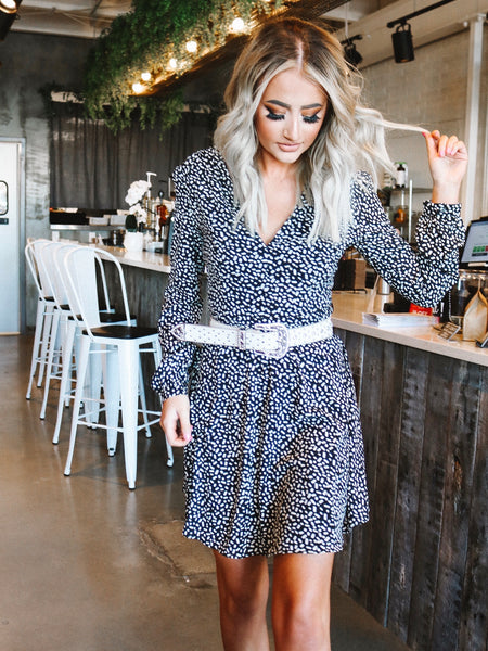 Be Bright Floral Dress