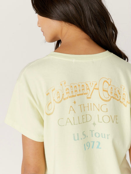 Johnny Cash A Thing Called Love Tour Tee
