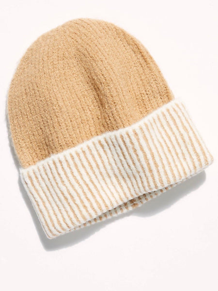 Straight Chill Ribbed Beanie