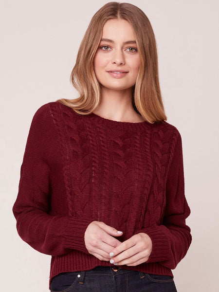 Off The Cable Sweater