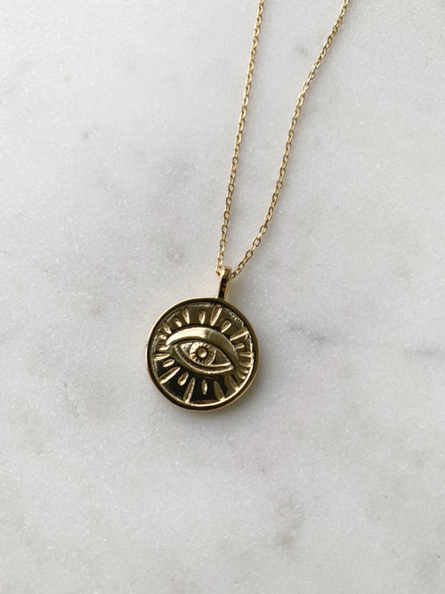 Evan Lucky Eye Necklace
