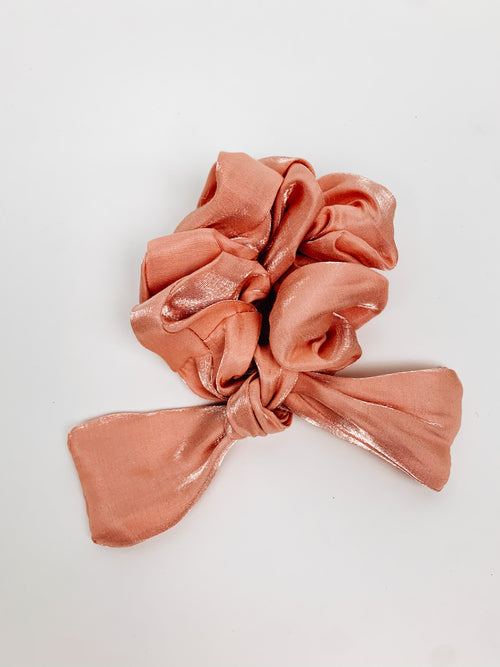 Bow On Top Scrunchie