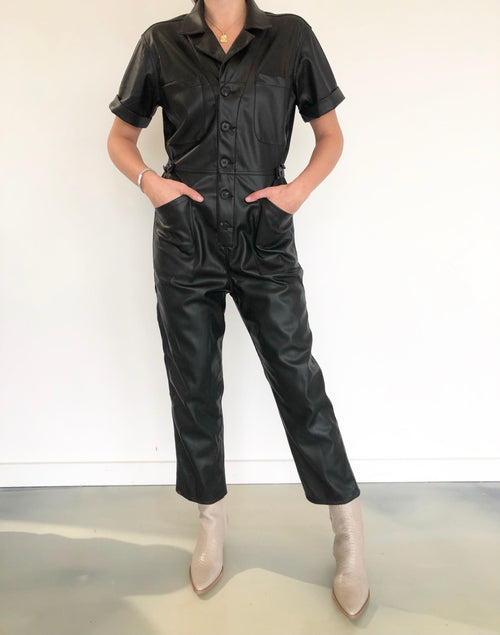 Grover Leather Field Suit