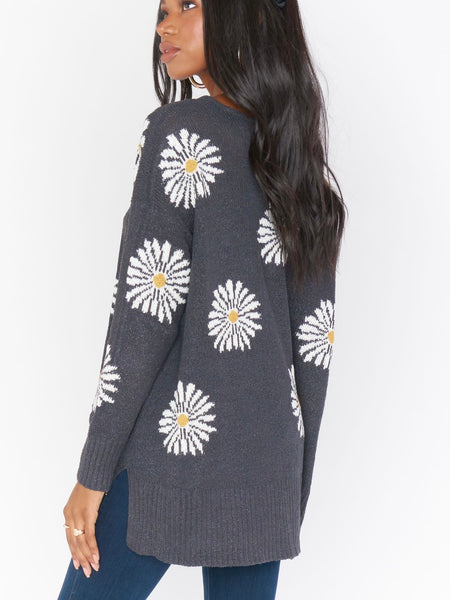 Hug Me Sweater in Daisy Love